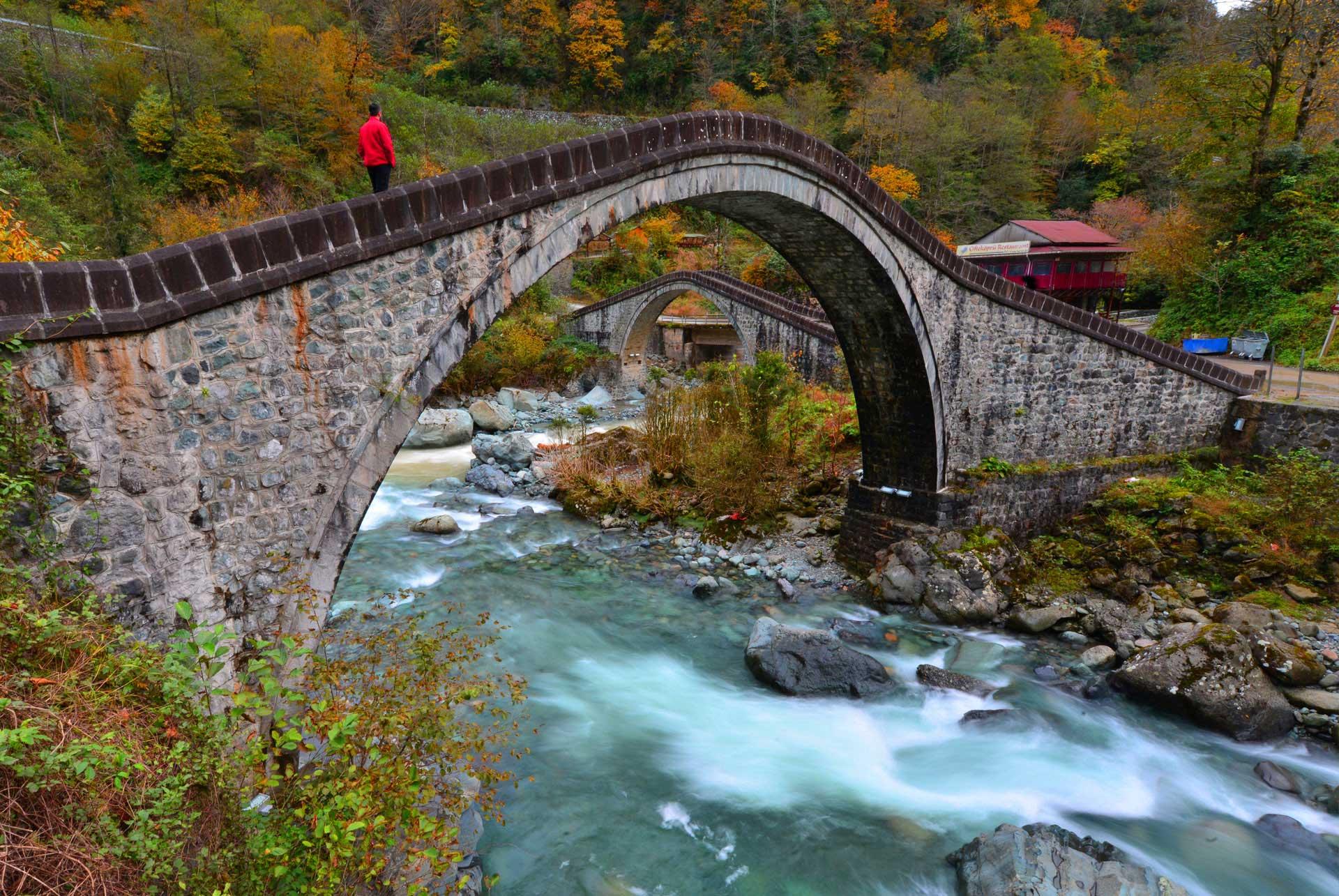 Ortacalar Çifte Köprüler – Artvin